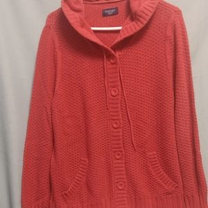 Ladies Sweater Hoody by Sonoma